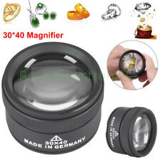 40X magnifying Glass Optical Magnifier Jewelry Watch Electronic Repair Tool USA