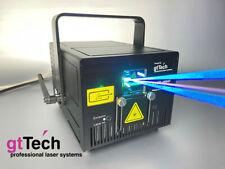 4W RGB Showlaser Club 4000F 40kpps bei ILDA 8 Grad, DMX, AUTO, Sound, SD-Card