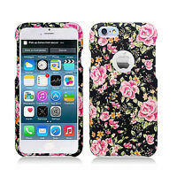 Apple iPhone 6 4.7 Rubberized HARD Protector Case Phone Cover +Screen Protector