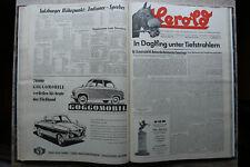 Herold Fachblatt  Pferdezucht Traber Jan-Dez 1957 Pferd Sulky Trabrennen Sport !
