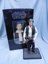 SIDESHOW STAR WARS HAN SOLO PREMIUM FORMAT 1:4 SCALE STATUE FIGURE #554/2500