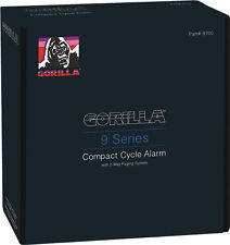 GORILLA MOTORCYCLE COMPACT CYCLE ALARM W/PAGER 9 SERIES W/ 2 WAY PAGING