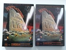 THE MEANING OF LIFE / AUSTRALIAN REGION 4 DOUBLE DVD / MONTY PYTHON