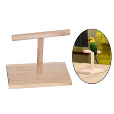 New listing Table Bird Perch Parrot Training Conures T Stand Standing Resting Playing