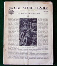 GIRL SCOUT - 1938 GIRL SCOUT LEADER - MAY