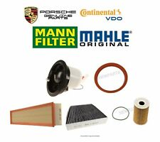 Porsche Panamera Fuel Filter with Seal Cabin Air Filter Air and Oil Filters Kit