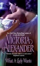 * What a Lady Wants by Victoria Alexander LIKE-NW PB COMBINE&SAVE
