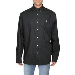 Ralph Lauren Mens Stretch Classic Fit Button-Down Shirt BHFO 6309
