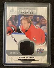 2018-19 SP Game Used Noah Hanifin 2018 NHL All-Star Skills Fabrics Jersey Relic
