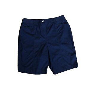 Chico's Lightweight Navy Shorts Size 1