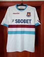 West Ham United London 2010 - 2011 away football shirt jersey Macron size L