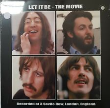 The Beatles Let It Be - The Movie - WHITE COLOURED VINYL LP NEW SEALED RARE
