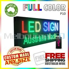 LED SIGN  RGB Full Colour Scrolling Programmable Message Window Display 670x350