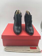 Authentic Valentino  Garavani Mena Bow booties heels 4' size 39. Made in Italy.