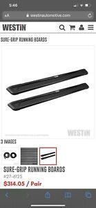Westin Sure Grip Running Boards & Mounting Kit for Chevy Blazer 4 door