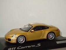 Porsche 911 991 Carrera S - Minichamps 1:43 in Box *31192