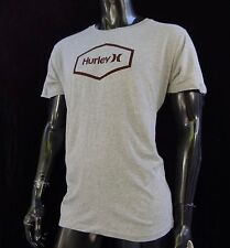 New Hurley Surfing Team Classic Cubed Gray Mens T-Shirt Size Xlarge HRL-185