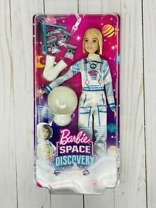 Barbie Space Discovery Astronaut Doll With Short Blonde Hair, Suit & Accessories
