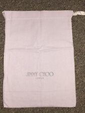 "Jimmy Choo Dust Bag 10""X 14"".-A399"