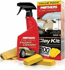 Mothers California Gold Clay Bar Kit Value Pack | 2x 100g Clay Bar, Detailer