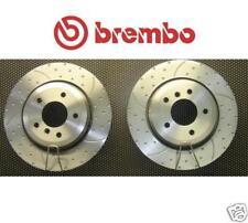 BMW 330i ci D 330CI disco de freno Brembo Trasero con hoyuelos Acanalado
