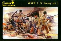 Caesar Miniatures 1/72 054 WWII US Army (Set 1)