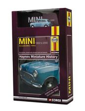 "Mini ""Blue"" + Haynes History Book (Corgi 1:43 / CC03001)"