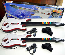 2 x NEW GUITARS Wired Guitar Hero/Rock Band 3 2 1 Gaming Controller PS3/PS2/PC