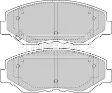 Borg & Beck Disc Brake Pad Set Pads BBP1860 - GENUINE - 5 YEAR WARRANTY