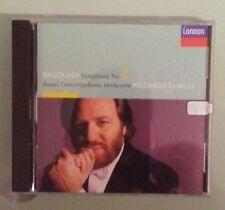 riccardo chailly royal concertgebouw orchestra BRUCKNER SYMPHONY NO 2   CD