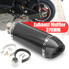 38-51mm Universal Motorcycle Carbon Exhaust Muffler Pipe Removable Pit Dirt Bike