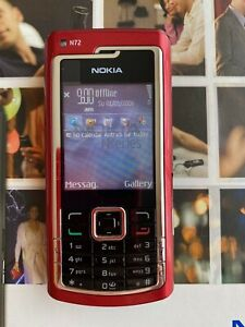 Nokia  N72 RED Excellent condition, Rare vintage telephone