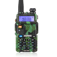 Baofeng UV-5R Two Way Ham Radio V/UHF Dual Band Walkie Talkie + Earphone