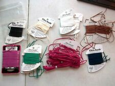 13 Cards Ultra Suede Black, Red, Brown, Blue, White, Green, All One Price