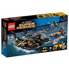 LEGO BATMAN DC SUPER HEROES 76034 THE BATBOAT HARBOR PURSUIT