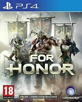 For Honor PS4 PRISTINE 1st Class Super FAST and FREE DELIVERY