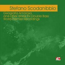 Stefano Scodanibbio - Scodanibbio: Geografia Amorosa [New CD] Manufactured On De