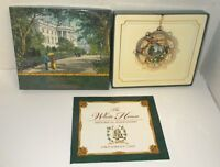 2005 JAMES A. GARFIELD WHITE HOUSE CHRISTMAS ORNAMENT W/BOX & BOOKLET
