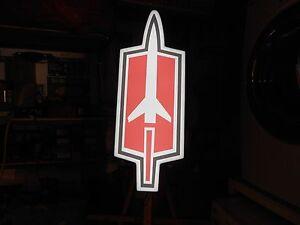 Oldsmobile Rocket Lighted Sign