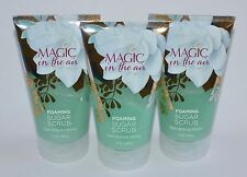 3 Bath & Body Works Magic In The Air Foaming Sugar Scrub Wash Shower Gel 8Oz Lot