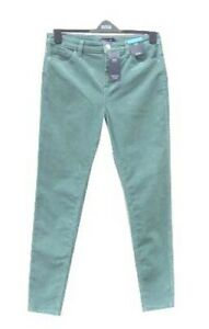 Marks & Spencer Skinny Jeans Corduroy Size 20 with Stretch in Sage Green
