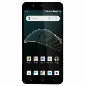 AT&T Prepaid Axia Smartphone QS5509A Dural Core 2GB 16GB Dark Blue