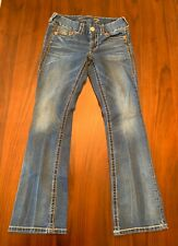 Ladies 7 For All Mankind Bootcut Distressed Size 26 6 Jeans