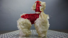 Vintage Columbia Toy Products Poodle Dog Stuffed Animal Provocative Eyes Rare
