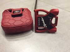 """Taylor Made Spider Tour Red Putter Mens Right 34"""" Mint Condition"""