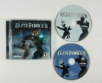 Star Trek ELITE FORCE II for Windows 98 (Activision, 2003) 2 Discs Set with Key