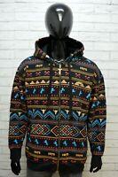Felpa Uomo Avirex Taglia L XL Comoda Pullover con Cappuccio Maglione Sweater Man