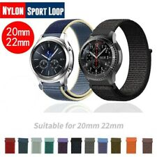 20/22mm Replacement Wearable Woven Soft Loop For Samsung Galaxy Watch Band Strap
