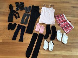 Lot Of 14 Pairs Socks Women HUE Betsey Johnson Alfani Under Armour PINK Capri Pa