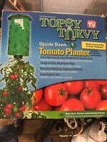 TOPSY TURVY UPSIDE DOWN TOMATO PLANTER AS SEEN ON TV